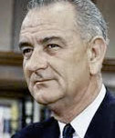 President Lyndon B. Johnson exemplified the role of a leader